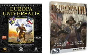 Europa-Universalis-I-amp-III-Epic-PC-Strategy-Games-Global-Conquest-Brand-New