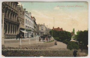 Worcestershire postcard - Belle Vue Terrace, Malvern - P/U 1908 (A72)