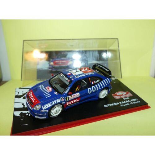 CITROEN XSARA WRC RALLYE MONTE CARLO 2006 S LOEB ALTAYA 1:43 2ème