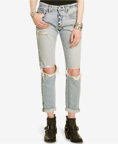 Wash Jeans 29 Bennett Donna Boyfriend Distressed Lauren Supply Ralph 30 Denim rwnqZwPT0