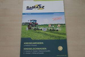 159243) Samasz Kreiselwender Kreiselschwader Prospectus 201?-r Prospekt 201? Fr-fr Afficher Le Titre D'origine