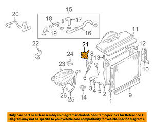 image is loading land-rover-oem-1999-discovery-engine-coolant-thermostat-
