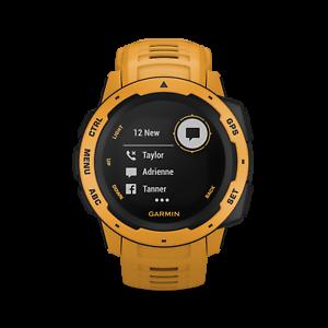 GARMIN-Outdoor-Smartwatch-Instinct-schiefergrau-gelb-010-02064-03