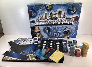 Scotland Yard Board Game Ravensburger 2014 Good Condition