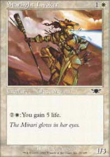 4x Starlight Invoker MTG Legions NM Magic Regular