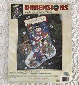 "1984 NIP Embroidered Santa Claus Christmas Stitchery Kit Figural 13/""x14/"" 1790F"