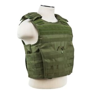 NcStar-VISM-OD-GREEN-Tactical-MOLLE-Operator-Plate-Carrier-Body-Armor-Chest-Rig