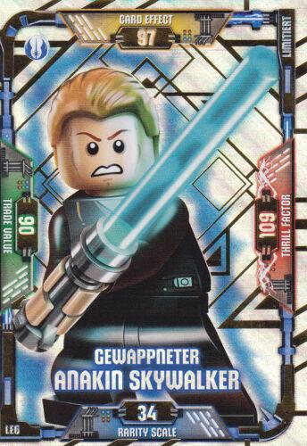 LEGO Star Wars Trading Card Game - LE6 Gewappneter Anakin Skywalker