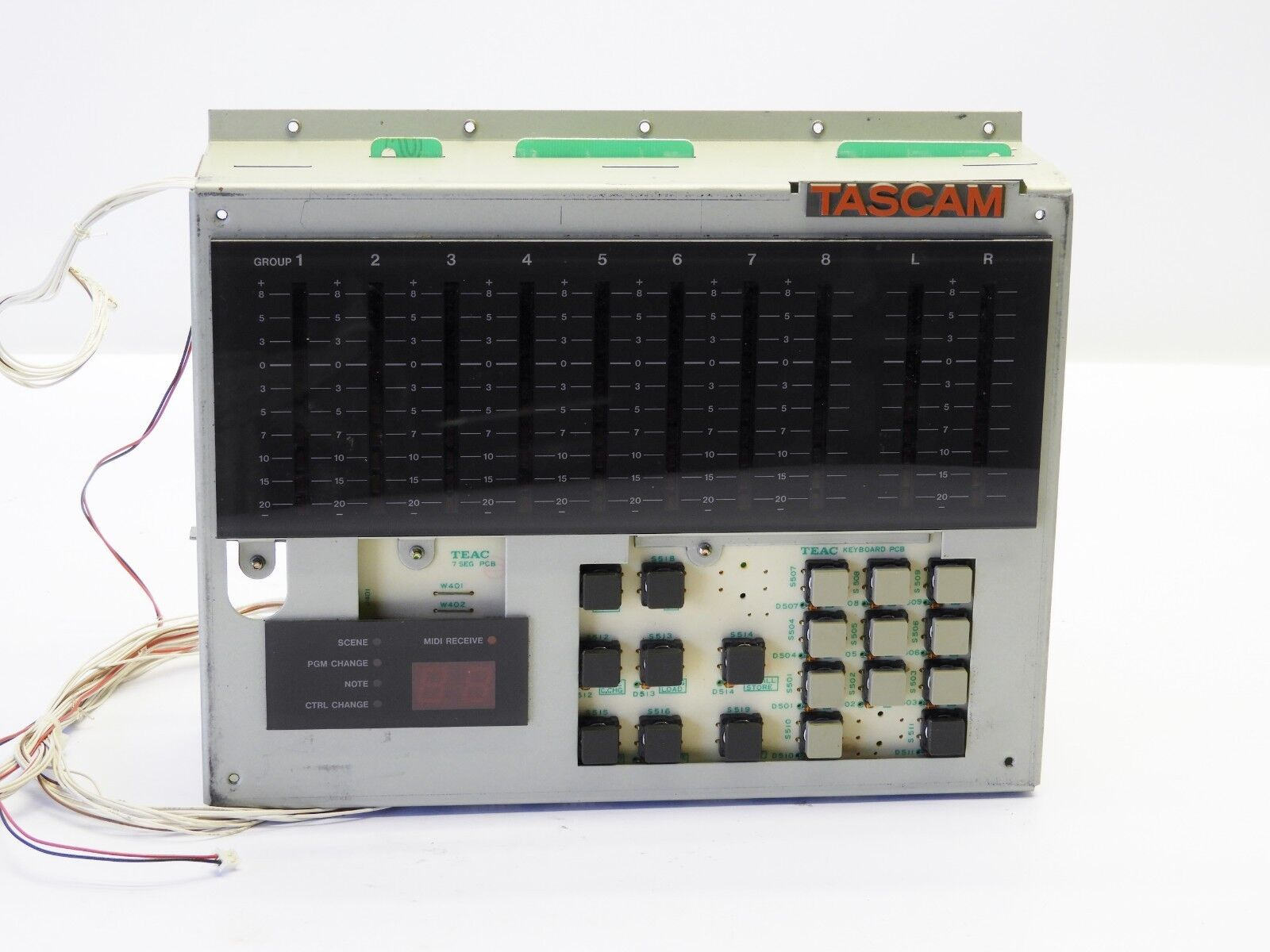 TASCAM M 2500 Series Control Panel Assembly