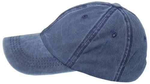 Cool4 Stonewashed Jeans Blau 6-Panel Basecap Cap Vintage Schirmmütze SBC04