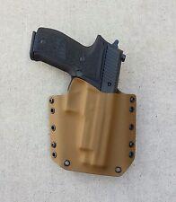 OWB Coyote Brown Kydex Holster Sig Sauer P226 W/Rail