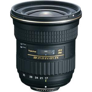 New Tokina 17-35mm f/4 Pro FX Lens - Canon EF