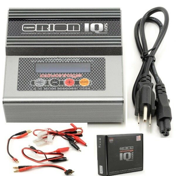 Orion ORI30156 Advantage IQ605 NiMH NiCd LiPo LiFe Li-Ion Battery Charger