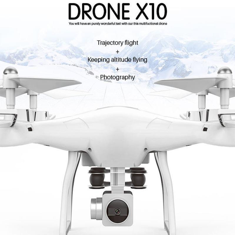 Drone x10 2.4ghz RC Quadcopter 0.3mp FOTOCAMERA WIFI FPV testa senza MODA ALTEZZA hold Z