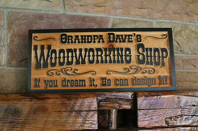 Custom Carved Wood Sign Personalized Plaque Rustic Signs Home Cabin Cedar Lake Ebay
