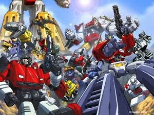 "TRANSFORMERS POSTER: Autobots Generation 1 Group  27"" x 39.5"" Pat Lee Dreamwave"