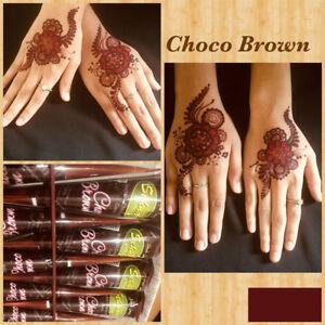 Instant Choco Brown Henna Mehandi Cone From Vimal Golecha Sehnaaz