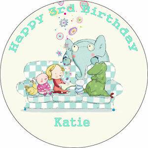 TILLY-AND-FRIENDS-BIRTHDAY-CAKE-8-034-EDIBLE-ROUND-BIRTHDAY-CAKE-TOPPER-DECORATION