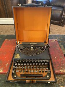 1939 Remington New York Worlds Fair Typewriter With Case
