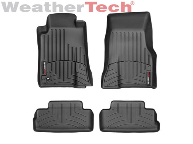 WeatherTech DigitalFit FloorLiner for Ford Mustang - 05-10 -1st/2nd Row - Black