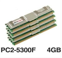 NEW 16GB(4x4GB) DDR2 PC2-5300F 667MHz DIMM 240PIN CL5 ECC Server RAM Memory PC