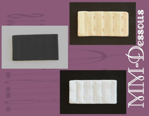 3 x NATURANA BH-Verlängerung ca 4 cm Farbe z Wahl 9911