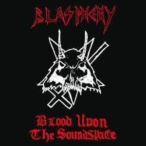 Blasphemy-Blood-Upon-The-Soundspace-Cassette-Tape-War-Black-Metal-DEMO