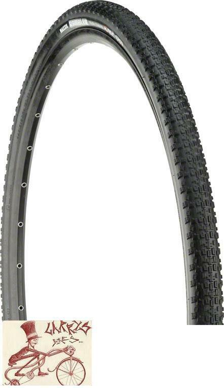 MAXXIS RAMBLER 120TPI DUAL COMPOUND EXO TUBELESS READY 700 X 40 FOLDING TIRE