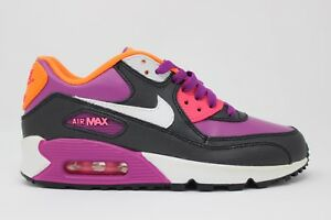 Details about Nike Air Max 90 2007 Gradeschool 345017 504 Bold Berry White Pink New In Box