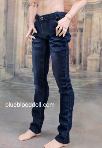 1//3 BJD 70cm male doll clothes outfit Iplehouse EID model stretch blue jeans