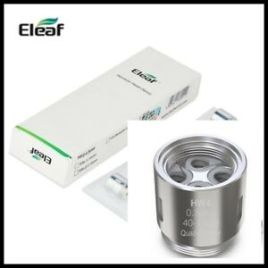 Genuine-Eleaf-Pack-of-5-Coils-Replacement-HW4-0-3-ohm-Heads-Ello-iKonn-UK-Stock