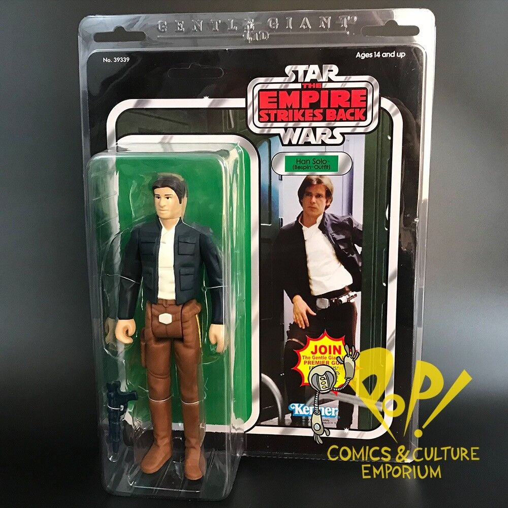 Star wars bespin han solo 12  vintage style jumbo - actionfigur sanfter riese