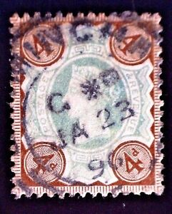 CatalinaStamps: Great Britain Stamp #116 Used, SCV=$15, #A-2