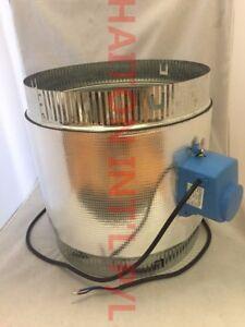 """8"""" (200mm )ZONE DAMPER 24V Air Conditioner Damper Motorized Ventilation"""