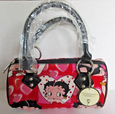 Betty Boop Handbag Red Pink Hearts