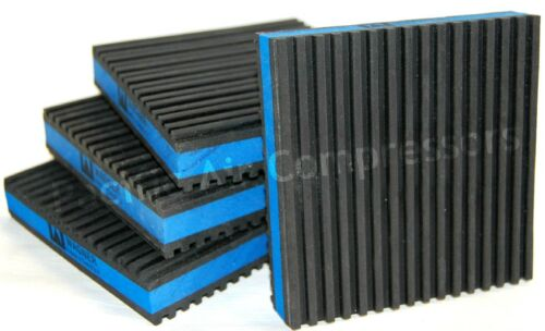 Champion VR5-8 HR5-8 4 Pack Anti Vibration Pads For Air Compressors 4/'/'x4/'/'