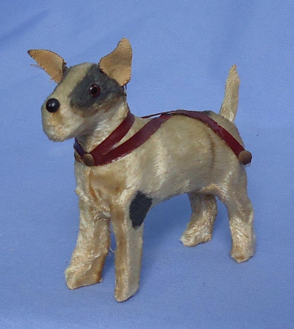 Antiguo fripon Fox Terrier azulette francés Moda Muñeca Perro Alemania 4