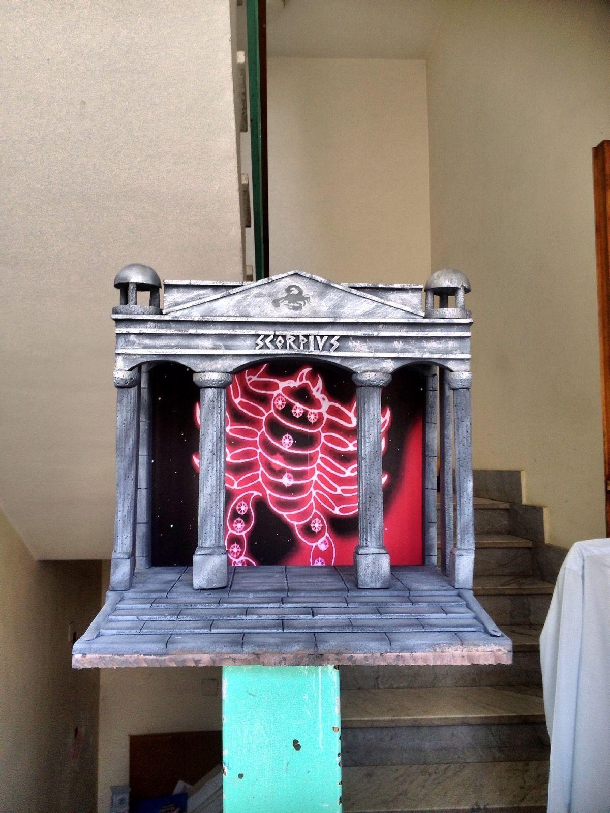 Diorama Decoration Scene Myth Cloth Saint Seiya Casa Di Scorpio/Milo