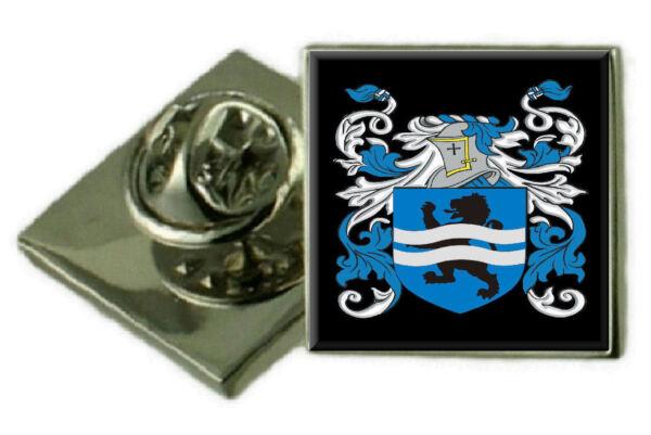 100% Wahr Tumbers England Familie Wappen Revers Pin Abzeichen Graviert Geschenk Hülle Eleganter Auftritt