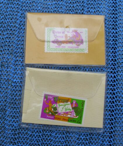 1970 and 1971 Krewe of VENUS stamps