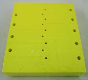 YELLOW-Self-Locking-Arrow-Key-Tags-1-000-per-pack-Size-4-1-2-034-X-3-4-034-YELLOW