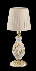 image is loading abatjour lumetto lampada comodino in color oro con - Abat Jour Color