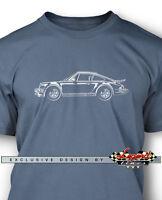 Porsche 911 Turbo 1975 Men T-shirt - Multiple Colors & Sizes German Classic Car