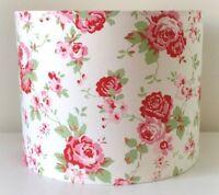 Cath Kidston Floral Lampshade Handmade 20cm Drum, Vintage, Shabby Chic