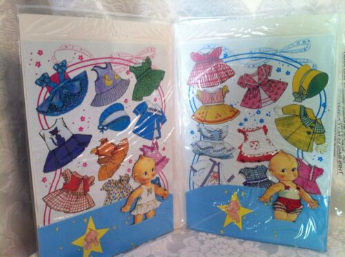 Vintage Repo Kewpie Doll Magic Paper Doll Magnet New Old Stock In Package