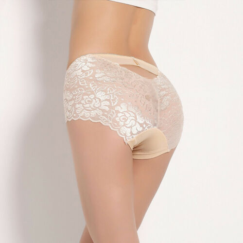 Women Lady Thong Seamless Underwear Briefs Panties Floral Lace Lingerie Knickers