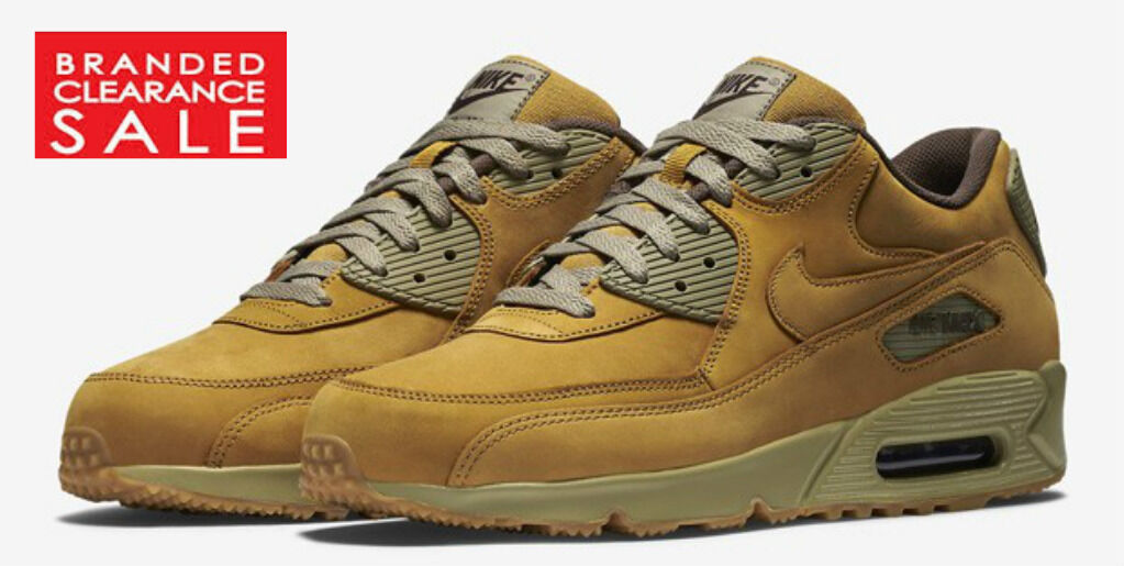 New homme Nike Air Max 90 Winter Premium Wheat Bronze Baroque Taille 7 UK