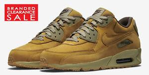 onped BNIB Men Nike Air Max 90 Winter Premium Wheat Bronze Baroque size
