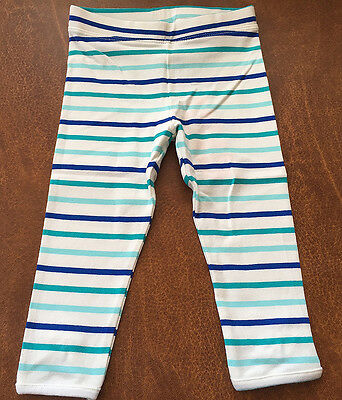 Janie and Jack SEASIDE ESCAPE White Belted Scallop Hem Pant NWT 3 4 18 24