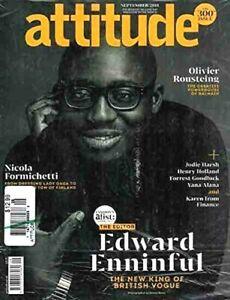 Attitude Magazine September 2018 Edward Enninful Gay Interest